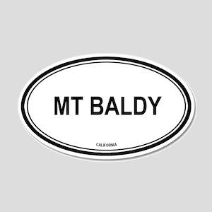 Mt Baldy oval 20x12 Oval Wall Peel