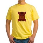 Royal Skull Yellow T-Shirt
