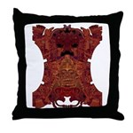 Royal Skull Throw Pillow