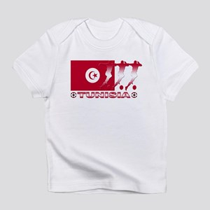 Tunisia soccer Creeper Infant T-Shirt