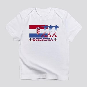 Croatia soccer Creeper Infant T-Shirt