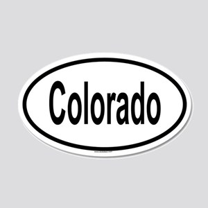 COLORADO 20x12 Oval Wall Peel