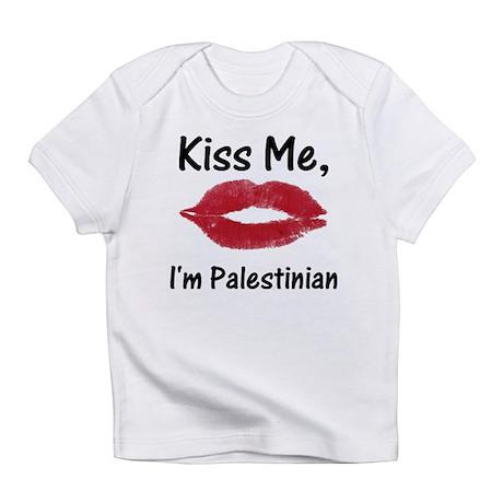 Kiss me, I'm Palestinian Creeper Infant T-Shirt