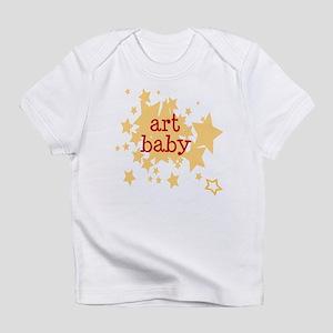 ART baby (stars) Creeper Infant T-Shirt