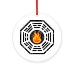 Dharma Flame Ornament (Round)