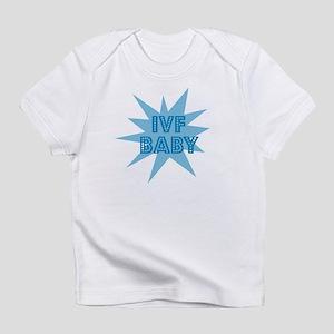 IVF Baby Stars Blue Creeper Infant T-Shirt