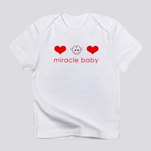 Miracle Baby Face Hearts Creeper Infant T-Shirt