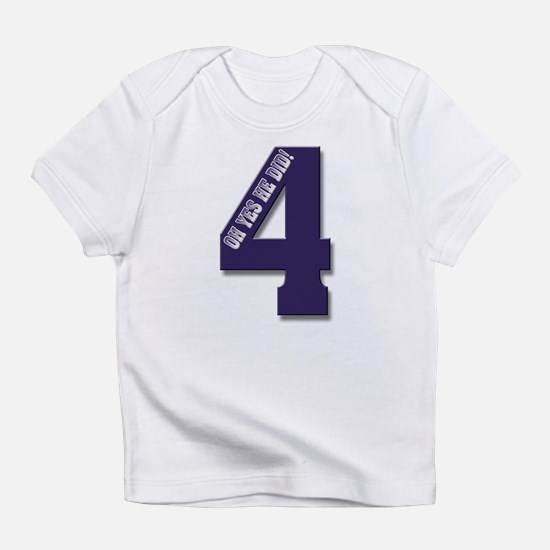 Purple 4 Infant T-Shirt