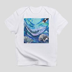 Whales Creeper Infant T-Shirt
