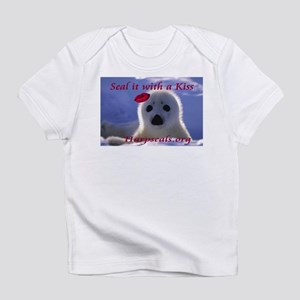 Seal it with a Kiss Creeper Infant T-Shirt