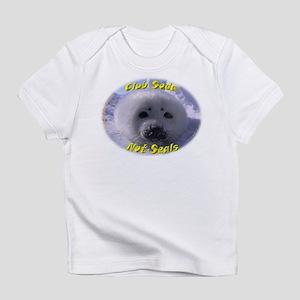 Club Soda, not Seals Creeper Infant T-Shirt