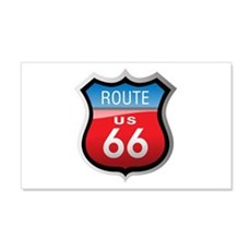 Route 66 Sign 20x12 Wall Peel