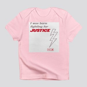 Onesie - Born Fighting for Justice Infant T-Shirt