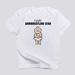 Future Armwrestling Star Infant T-Shirt