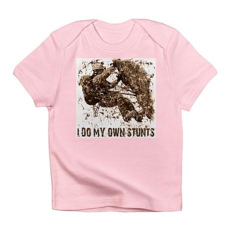 Rock Climbing My Own Stunts Creeper Infant T-Shirt