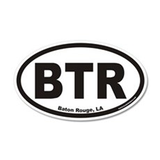 Baton Rouge BTR Euro 20x12 Oval Wall Peel