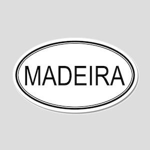 MADEIRA (oval) 20x12 Oval Wall Peel