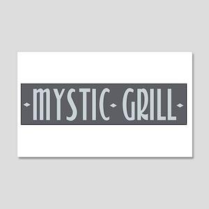 Mystic Grill 20x12 Wall Peel