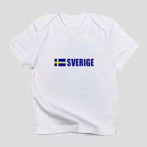 Sverige Flag Infant T-Shirt