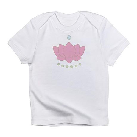 Lotus Flower Creeper Infant T-Shirt