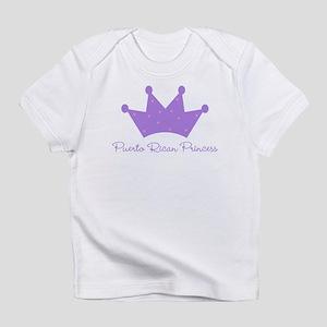 Puerto Rican Princess Creeper Infant T-Shirt