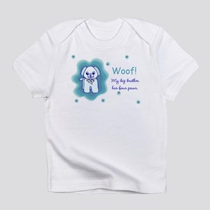 MY big brother has paws Infant T-Shirt
