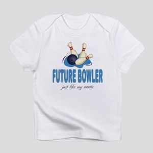 Future Bowler Like Auntie Baby Infant T-Shirt
