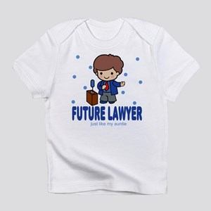 Future Lawyer like Auntie Baby Infant T-Shirt
