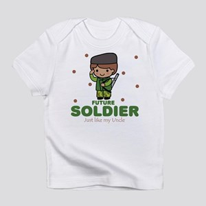 Future Soldier Boy Baby Like Uncle Infant T-Shirt