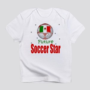 Future Soccer Star Mexico Baby Infant T-Shirt