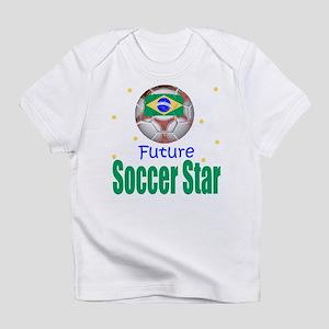 Future Soccer Star Brazil Baby Infant T-Shirt
