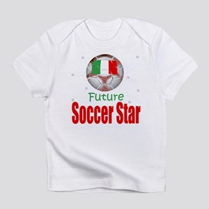 Future Soccer Star Italy Baby Infant T-Shirt