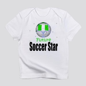 Future Soccer Star Nigeria Baby Infant T-Shirt