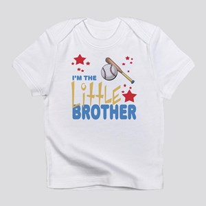 I'm the Little Brother Baseball Infant T-Shirt