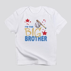 I'm the big brother Baseball Baby Infant T-Shirt