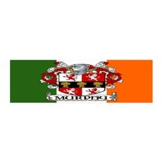 Murphy Arms Tricolour 36x11 Wall Peel