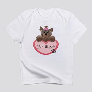 IVF Miracle Yorkie Heart Baby/Toddlers Infant T-Sh