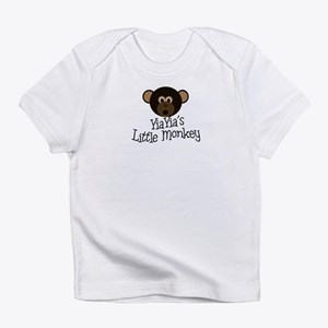 YiaYia's Little Monkey BOY Infant T-Shirt