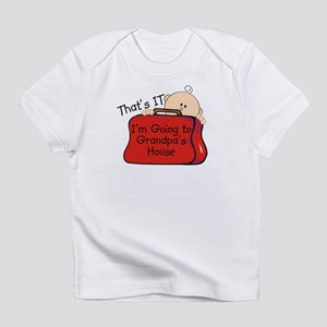 Going to Grandpa's Funny Infant T-Shirt