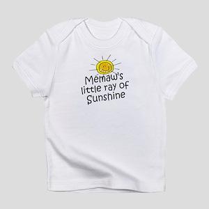 Memaw's Sunshine Infant T-Shirt