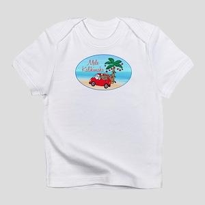 Hawaiian Christmas Santa Infant T-Shirt