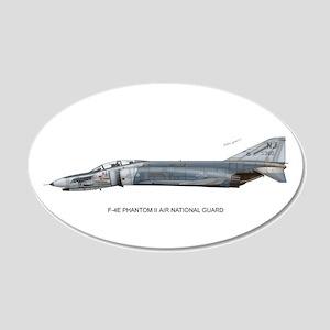 F-4 Phantom II 20x12 Oval Wall Peel