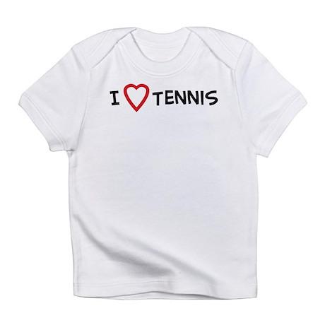 I Love Tennis Creeper Infant T-Shirt