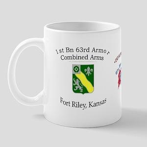 1st Bn 63rd Armor Mug