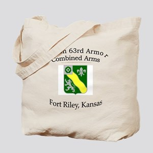 1st Bn 63rd Armor Tote Bag