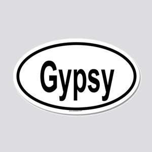 GYPSY 20x12 Oval Wall Peel