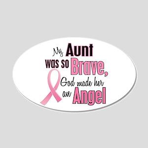 Angel 1 (Aunt BC) 20x12 Oval Wall Peel