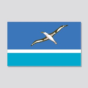Midway Islands Flag 20x12 Wall Peel