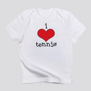 I Love Tennis Infant T-Shirt
