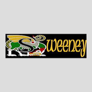 Sweeney Celtic Dragon 36x11 Wall Peel
